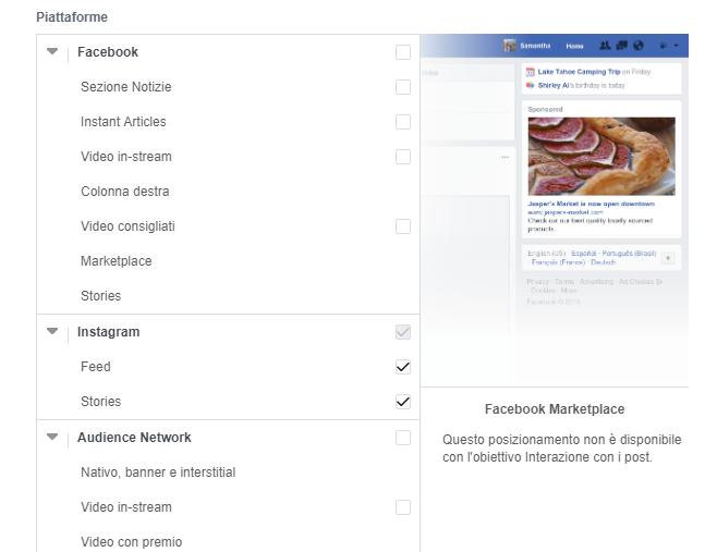 posizionamento-sponsorizzata-instagram Fare pubblicità su Instagram: la guida completa 2020